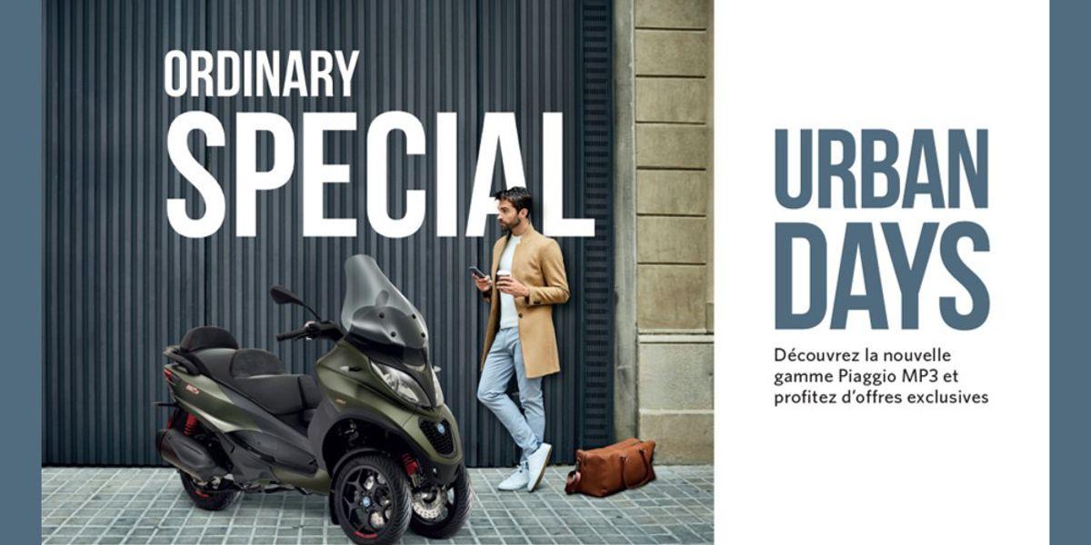 piaggio urban days actualit de la clinique du scooter paris 14. Black Bedroom Furniture Sets. Home Design Ideas